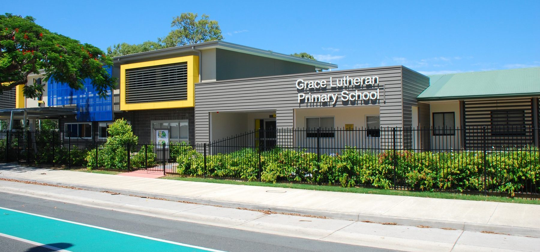 Grace Lutheran Primary External Admin Building