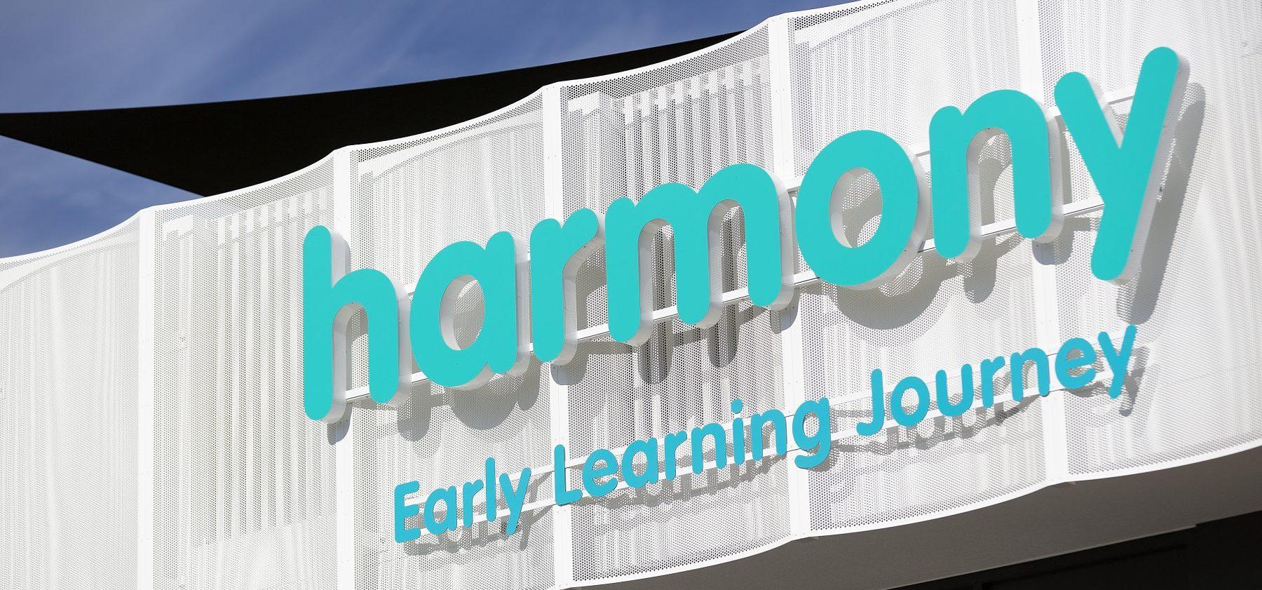 Harmony Woolworths Street External Sign