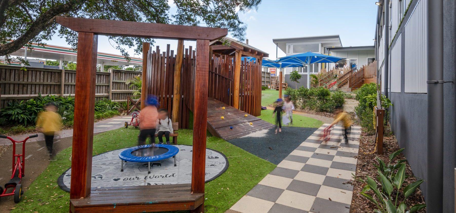 Handford Road Childcare Exterior Playground