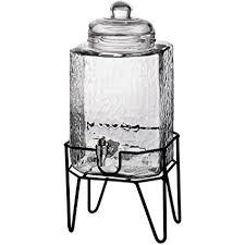 glass beverage jar