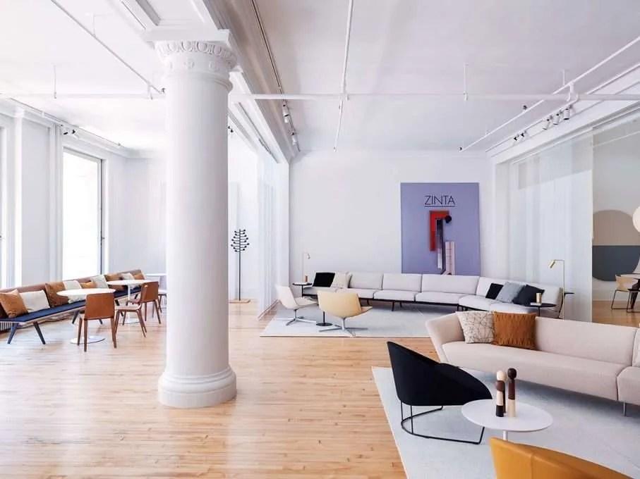 Arper Zinta NY Showroom