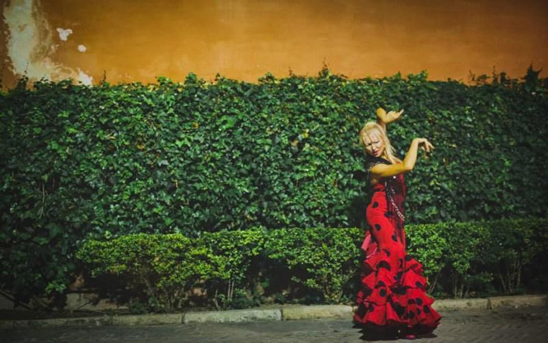 Kati La Zíngara - flamenco Seville