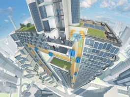 MULTI rope-free elevator by ThyssenKrupp