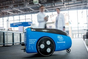 TeleRetail Delivery Robot Laboratory