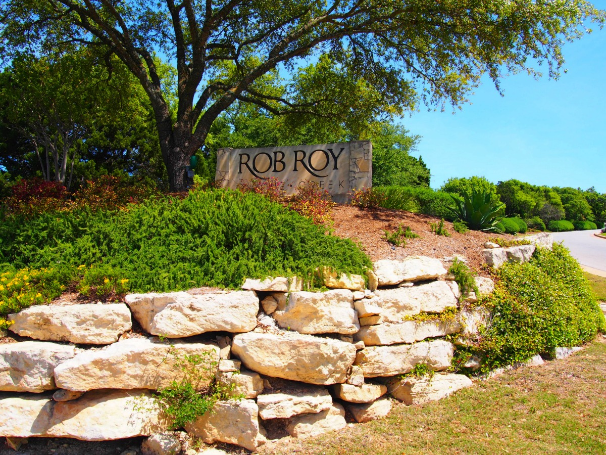 west austin master planned communities Rob Roy