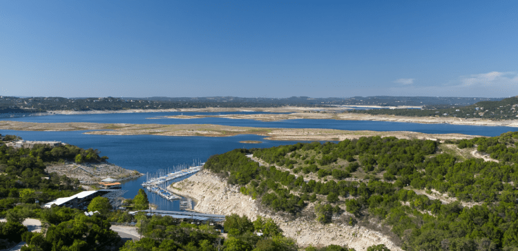 lake travis waterfront homes