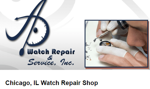Watch Repair Chicago