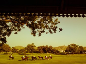 Polo Grounds As seen from the Jaipur Pavilion