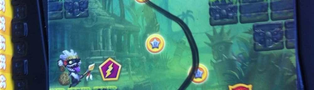 Loony quest -jeu de société au look de jeu vidéo