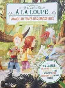 livre énigmes dinosaures enfant 8 ans