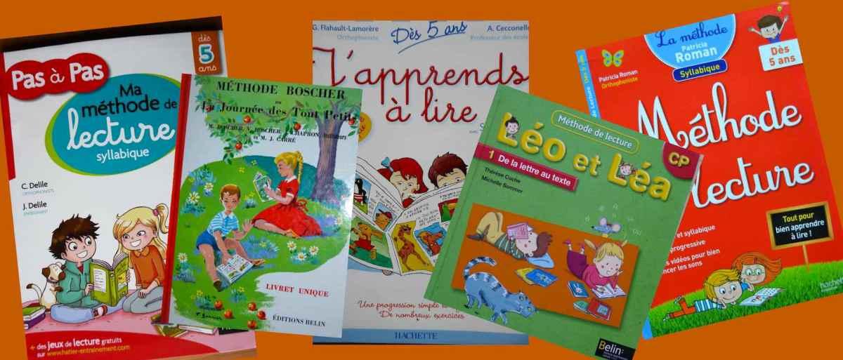 La méthode syllabique : 5 livres pour bien apprendre à lire dès le CP.