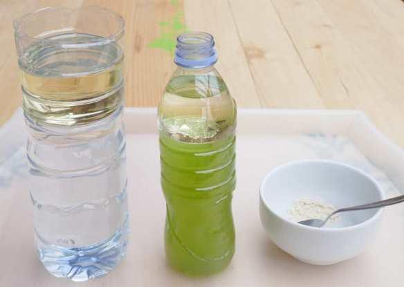 expérience huile eau maison primaire