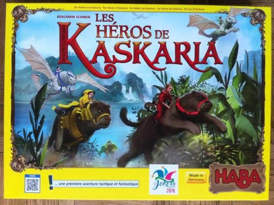 jeu de société Les héros de Kaskaria