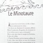 histoire du Minotaure
