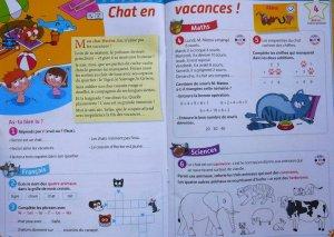 cahier de vacances français math (Passeport)
