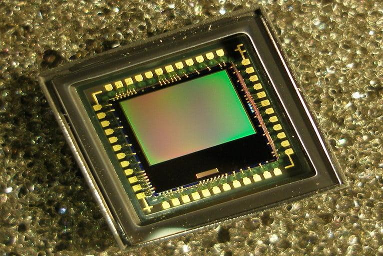 CMOS sensor of digital camera