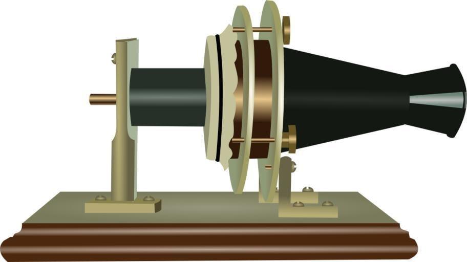 Alexander Graham Bell telephone model