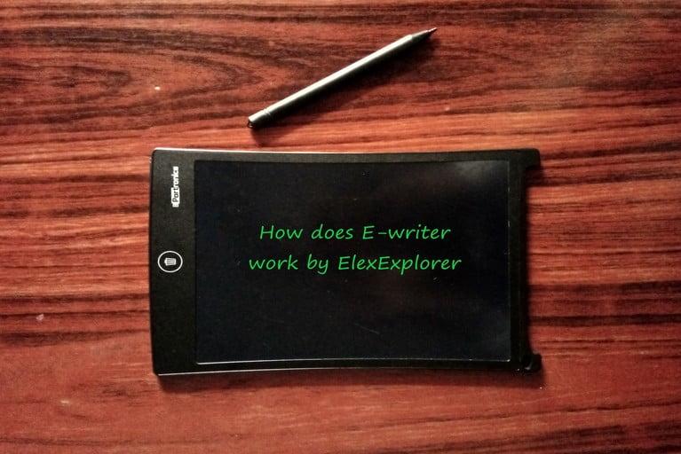 E-writer by ElexExplorer