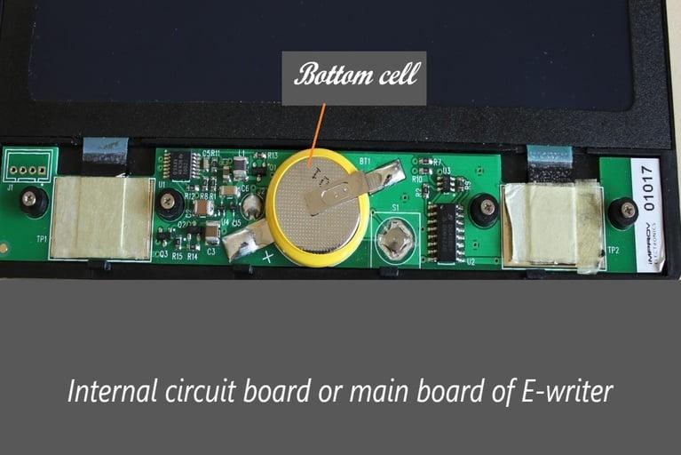 E-writer main board