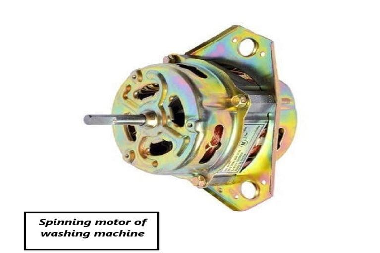Spin motor of washing machine