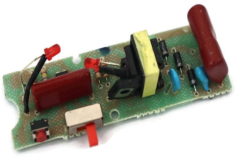 Circuit board of ordinary stun gun