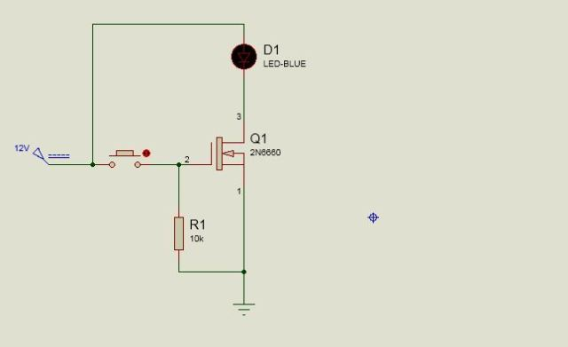 Off state: Mosfet as a Switch
