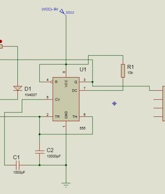 Circuit Diagram of PWM Generation