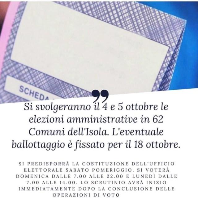 elezioni amministrative 4 5 ottobre 2020 sicilia