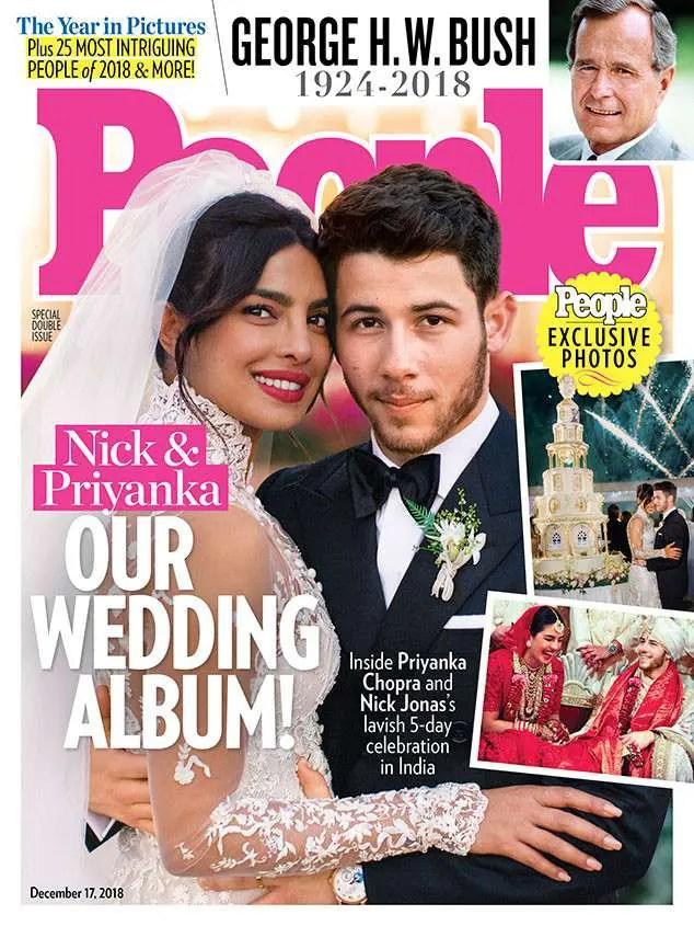 Boda de Nick Jonas y Priyanka Chopra en People
