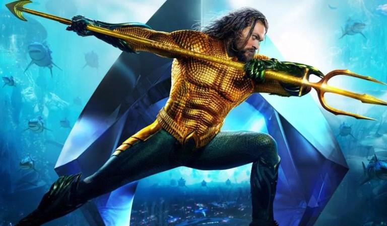James Wan comparte el primer  vistazo al traje de Jason Momoa en la secuela de Aquaman