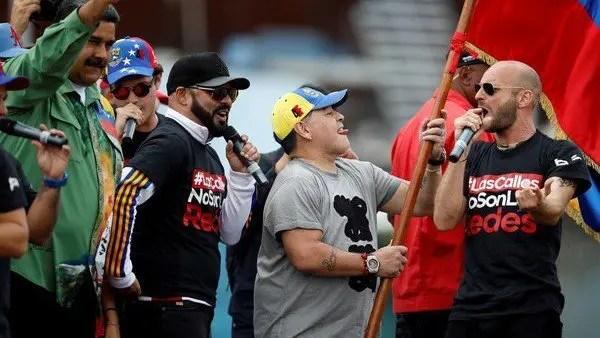 Este fue la reacción de los artistas chavistas ante lo ocurrido en la frontera