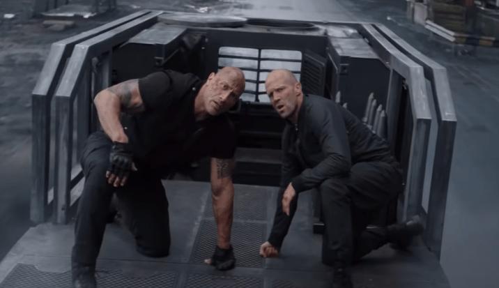 El nuevo tráiler de Hobbs & Shaw está lleno de acción, riesgo y de un «superman negro»