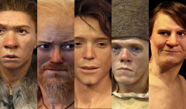 ¡Increíble! Forenses recrean el aspecto de las personas que vivieron hace milenios