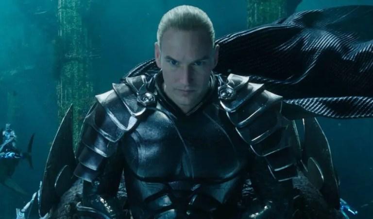 Patrick Wilson volverá a interpretar al villano Orm en Aquaman 2