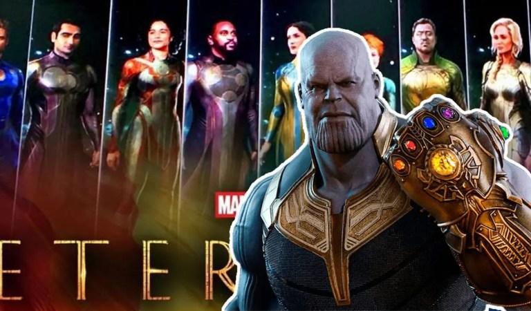 Eternals: Conoce la conexión de Thanos con los nuevos personajes del UCM