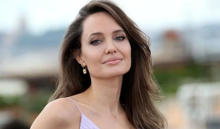 Viral: La foto de Angelina Jolie sin ropa interior que deslumbró a todos 😳🔥