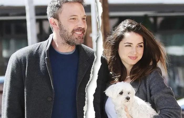 Ben Affleck y Ana de Armas le ponen fin a su relación amorosa 😢💔