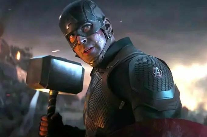 ¡A dos años del estreno de Endgame! Chris Evans relató lo que sintió al ver la reacción del público al ver a Capitán América levantar el Mjölnir
