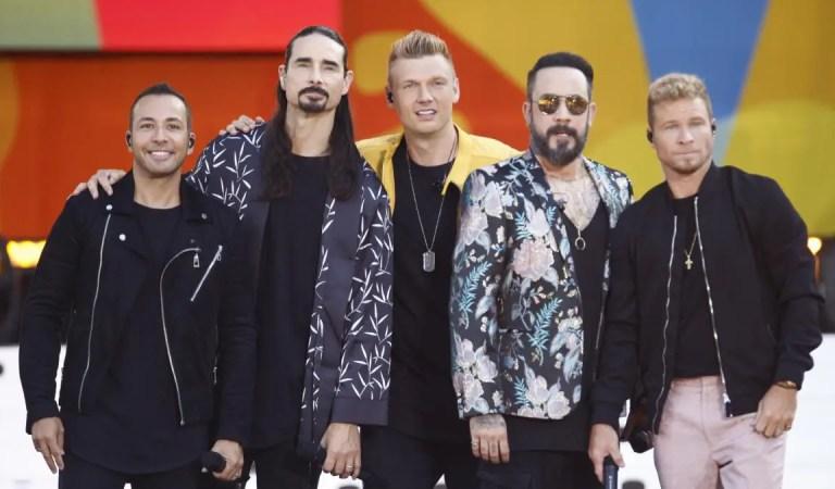 Los Backstreet Boys podrían separase por culpa de Trump y Biden