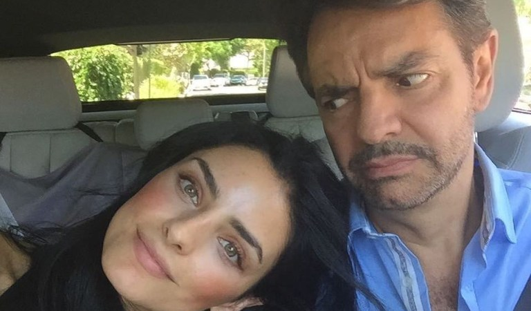 ¡Le salió regaño! Aislinn Derbez compartió sensuales fotos y así reaccionó Eugenio Derbez 🤭😅