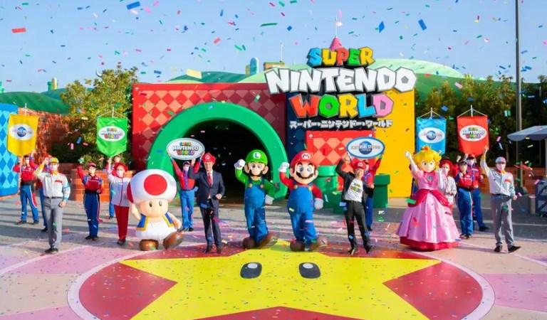 Super Nintendo World inauguró su parque de atracciones en Japón 🎡
