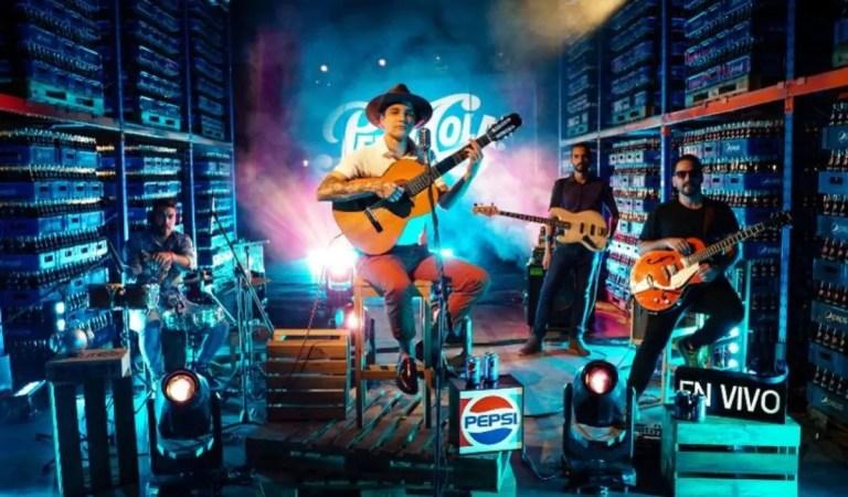 Con presentaciones en vivo: Pepsi fortalece su plataforma musical 💪👏