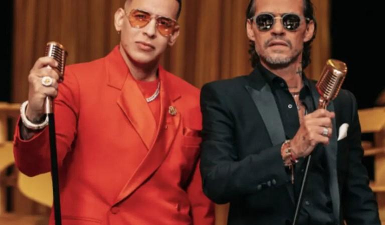 Daddy Yankee será el invitado especial del concierto de Marc Anthony 🎙🤝