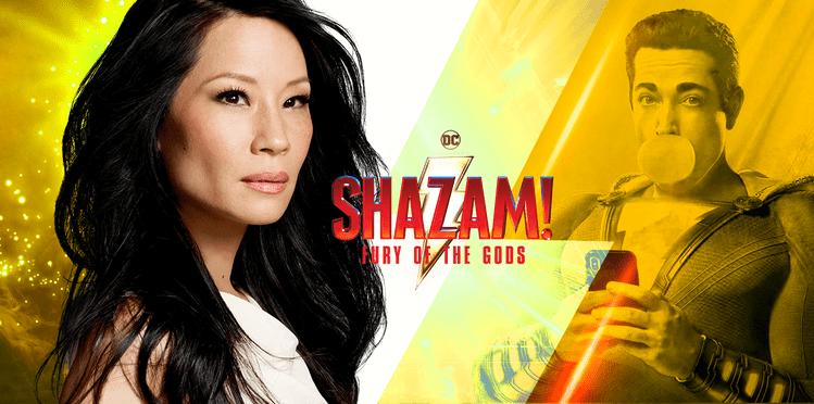 Lucy Liu se une a Shazam : Furia de los Dioses como villana