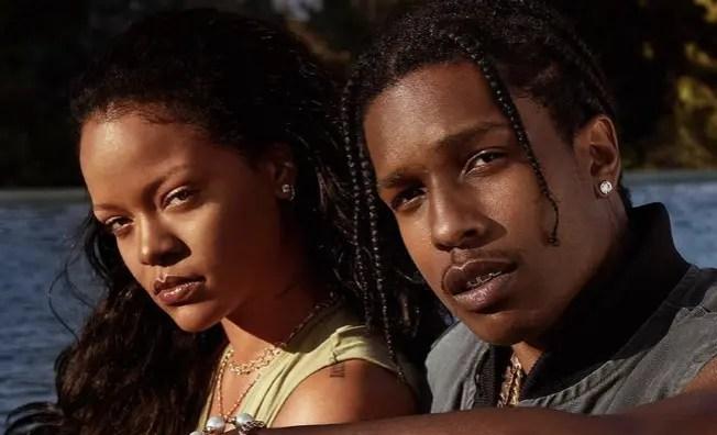 A$AP Rocky rompió el silencio sobre su relación con Rihanna