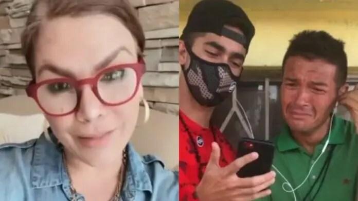 Olga Tañón sorprendió a fan venezolano que canta sus canciones en la calle