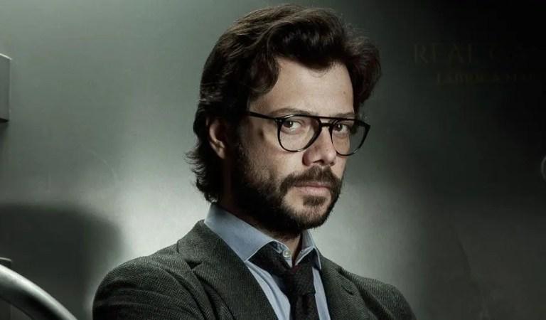 La Casa de Papel: Álvaro Morte se despide del su papel de «El Profesor»