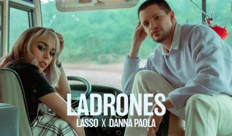 «Ladrones»: Lasso y Danna Paola lanzan su segundo track en colaboración 😎🎶
