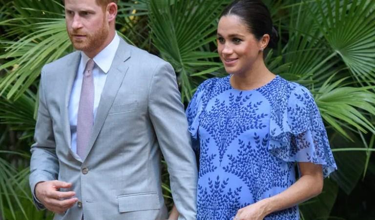 El segundo hijo de Meghan Markle y el príncipe Harry ya está por nacer 🥰👑