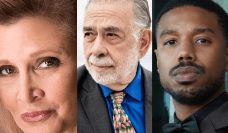 Carrie Fisher, Francis Ford Coppola y Michael B. Jordan recibirán su estrella en el Paseo de la Fama de Hollywood